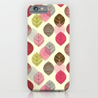 Linear leaves iPhone 6 Slim Case