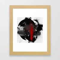 Random #5 Framed Art Print