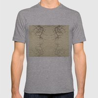 branches#06 Mens Fitted Tee Athletic Grey SMALL