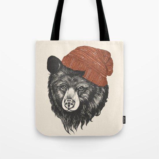 zissou the bear Tote Bag