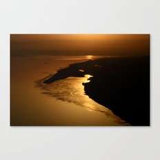 Golden Hour at the Prayag Canvas Print