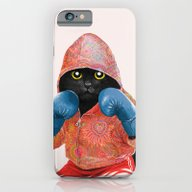 Boxing Cat 2  iPhone 6 Slim Case