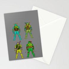 Ninja Turtle Butts H Stationery Cards