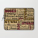 A Book Lover's Medley Laptop Sleeve