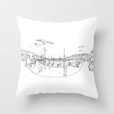 Brixham Throw Pillow