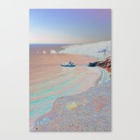 Chromascape 2 (Cyprus) Canvas Print
