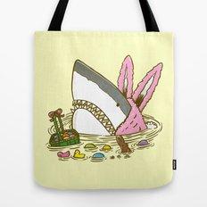 The Easter Shark Tote Bag
