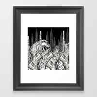 Camouflage II In Uzu Jun… Framed Art Print