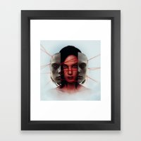 Facade. Framed Art Print