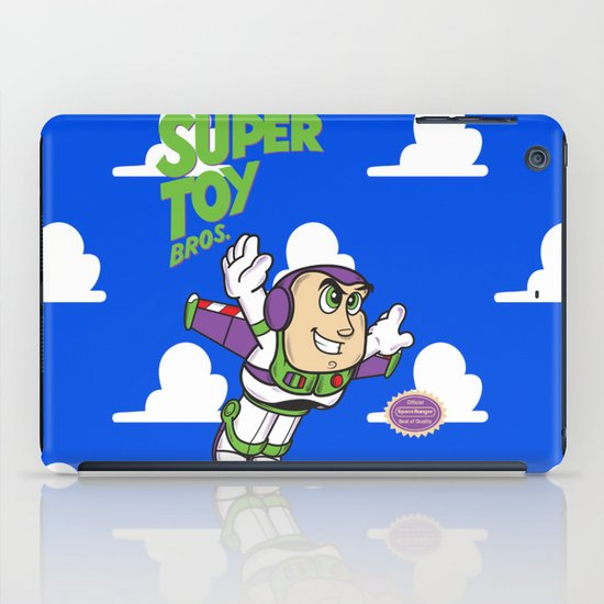 Super Toy Bros. iPad Case