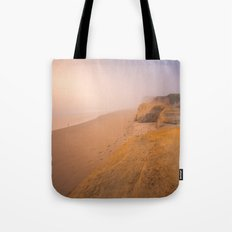 Alone In the Fog Tote Bag