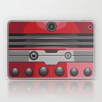 Dalek Red - Doctor Who Laptop & iPad Skin