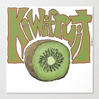 Kiwifruit. Canvas Print