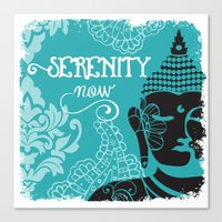 Serenity Now Canvas Print