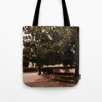 Jardines De Sabatini Tote Bag