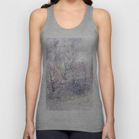 Snow in early fall(2). Unisex Tank Top