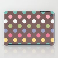 Color Dots iPad Case