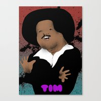 The Great Tim Maia Canvas Print