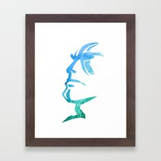 Heads up Framed Art Print
