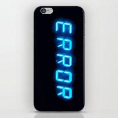 ERRORTRUTH iPhone & iPod Skin
