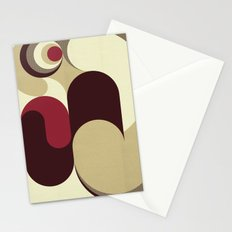 5 Colors Composition (#1) Stationery Cards