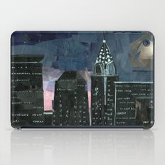 Night time in the city iPad Case