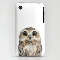 iPhone & iPod Case featuring Little Owl by Amy Hamilton