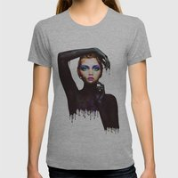 The Girl 3 Womens Fitted Tee Athletic Grey SMALL