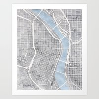 Portland Oregon Art Print