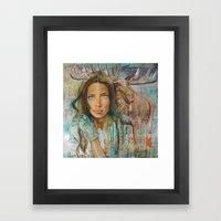 VULNERABLE Framed Art Print