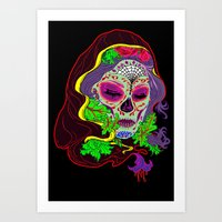 Darlin' Of The Dead Art Print