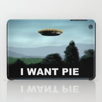 I Want Pie iPad Case