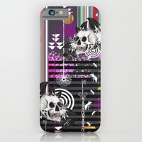 iPhone & iPod Case featuring Skull by kerry mcveigh