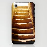 iPhone 3Gs & iPhone 3G Cases featuring Steps to tomb by Brian Raggatt