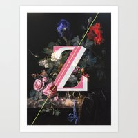 Letter Z Art Print