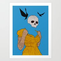 evil dead. Art Print