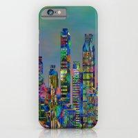 iPhone & iPod Case featuring Graffiti City by Klara Acel