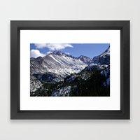Longs Peak From Dream La… Framed Art Print