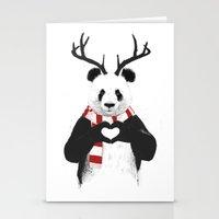 Xmas Panda Stationery Cards