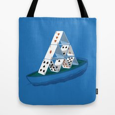 Waiting the storm Tote Bag