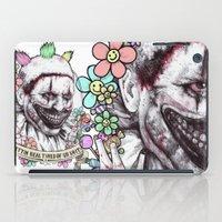 xoxo Twisty (color) iPad Case