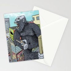 Rocket Boy vs Death Gorilla Stationery Cards