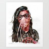 Krillex Art Print