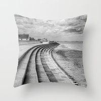 North Beach, Heacham, No… Throw Pillow
