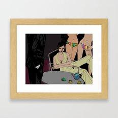 Love, Scandal & Tea Framed Art Print
