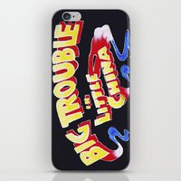 Big Trouble In Little Ch… iPhone & iPod Skin