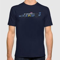 Tyrrell P34 Mens Fitted Tee Navy SMALL