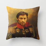 Hugh Jackman - Replacefa… Throw Pillow