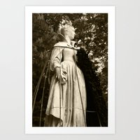 The Queen, Side View (s… Art Print