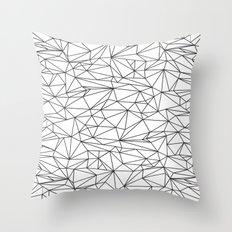 Geometric Wire Throw Pillow